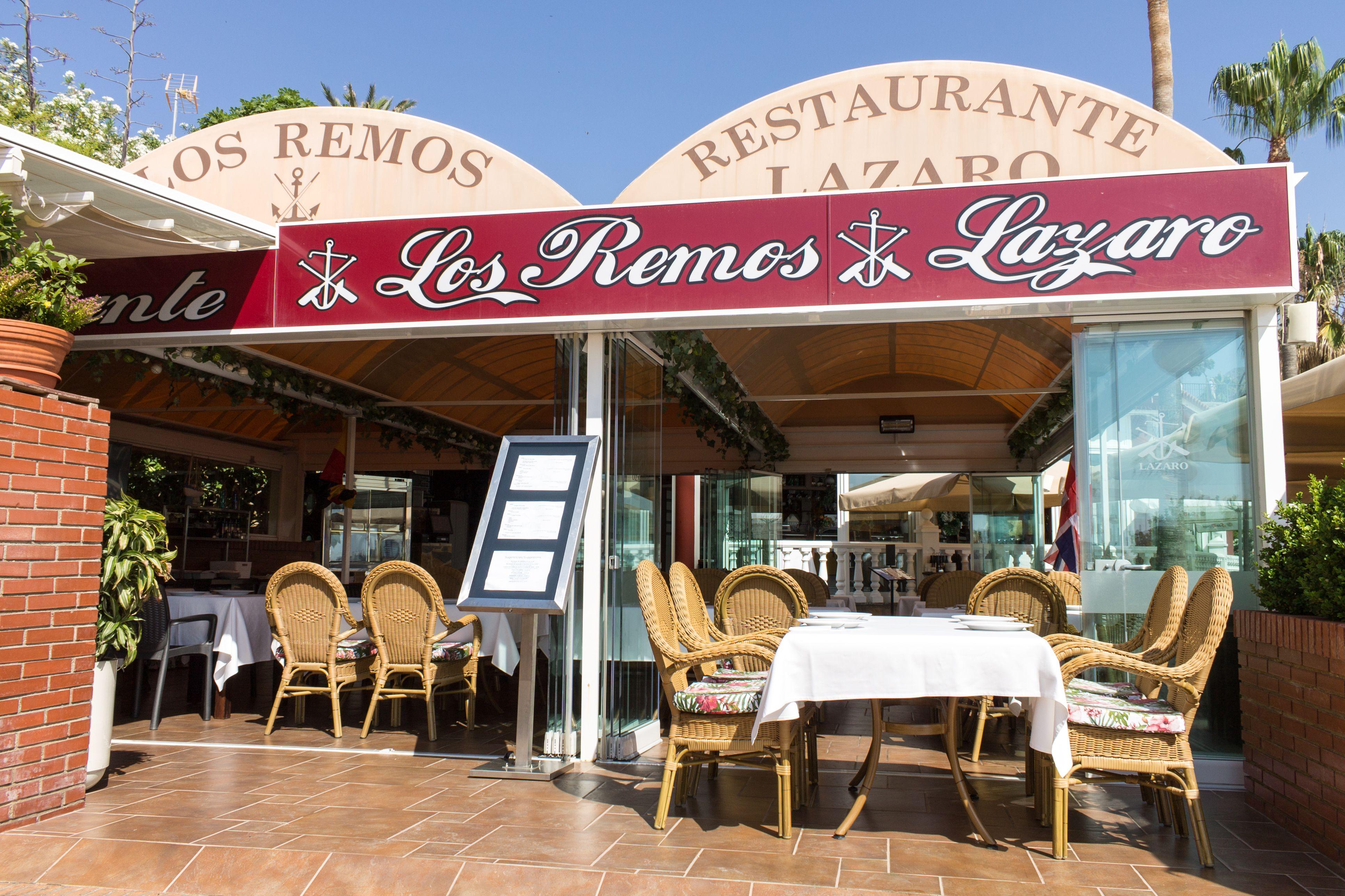 Restaurante en la playa en Benalmádena