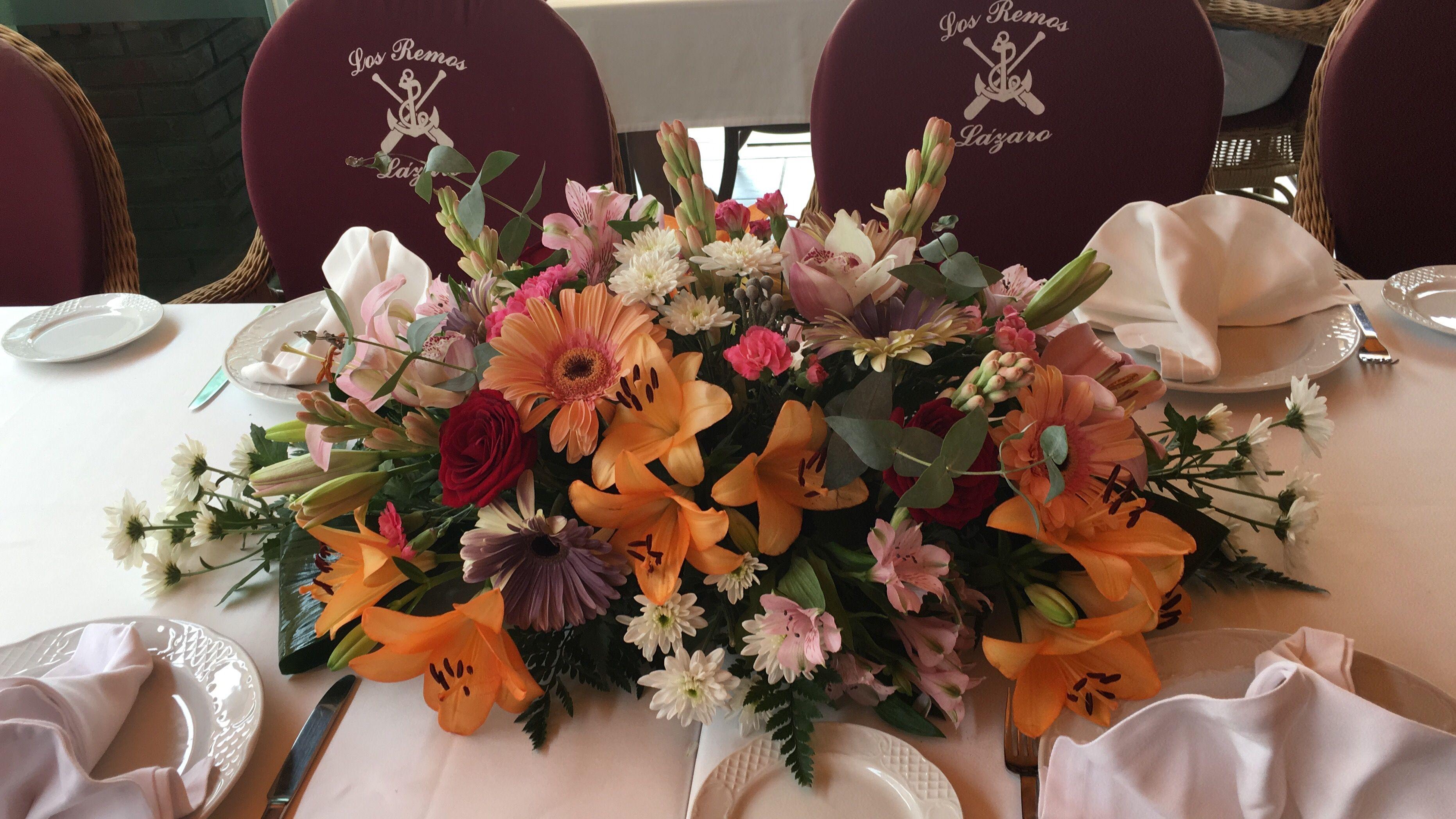 Celebraciones y bodas: Carta de Restaurante Los Remos Lázaro