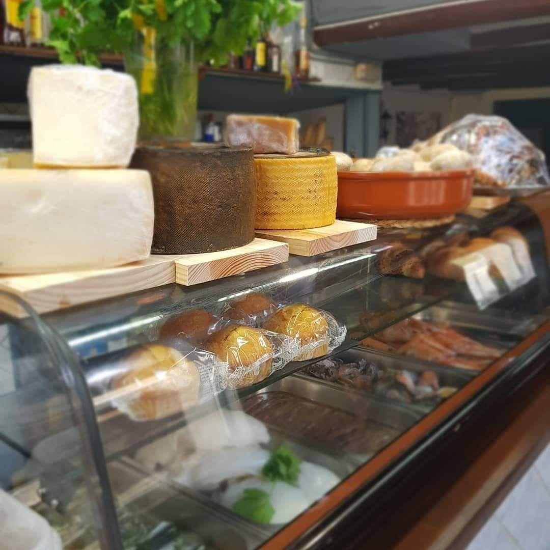 Amplia variedad de quesos