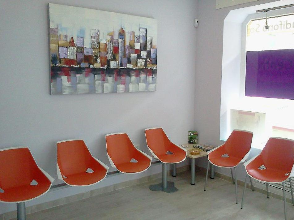 AudioCentro, sala de espera