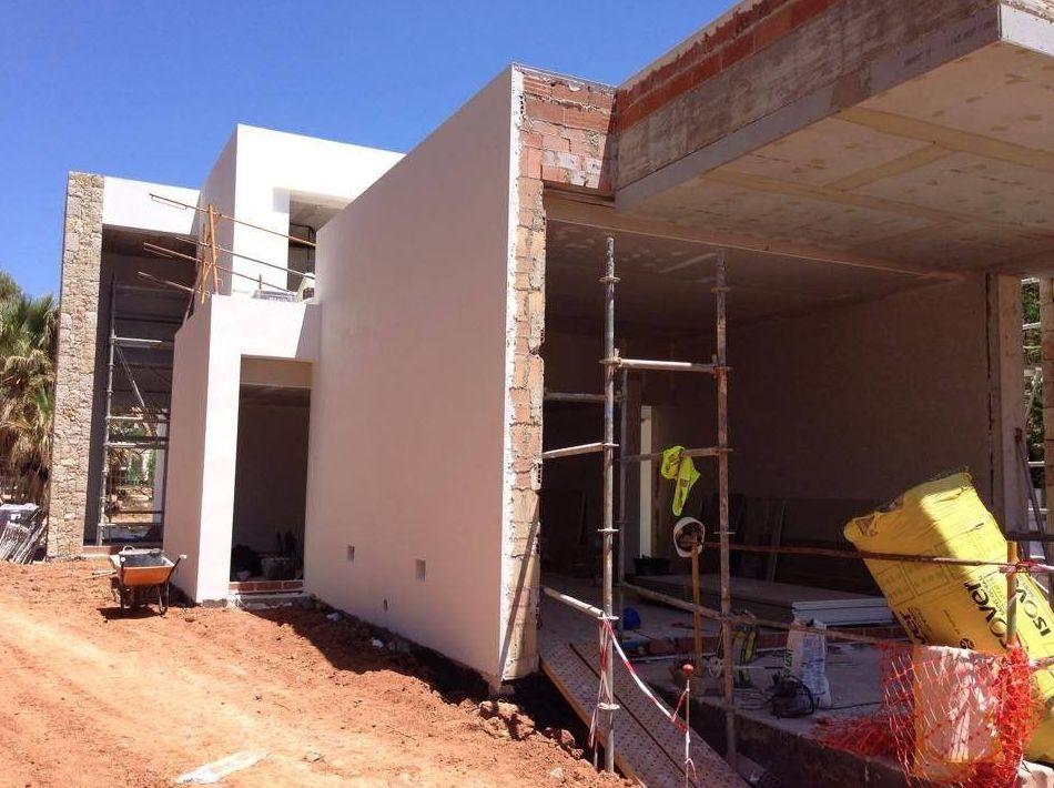 Trabajos realizados en unifamiliar de el Portet de Moraira,