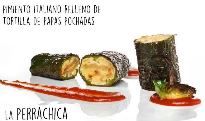 Pimiento italiano relleno: Carta de Restaurante La Perrachica