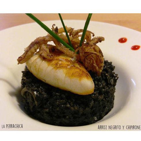 Arroz negrito : Carta de Restaurante La Perrachica