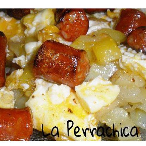 Huevos rotos: Carta de Restaurante La Perrachica