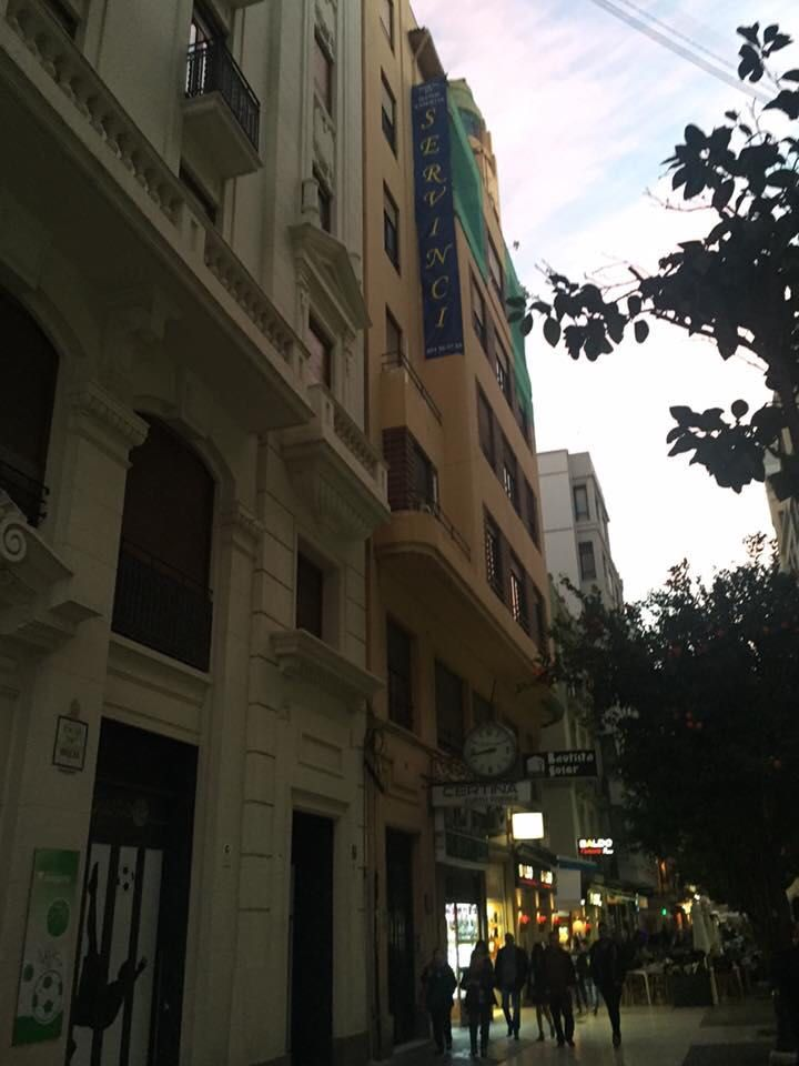 Obras para restaurar fachadas