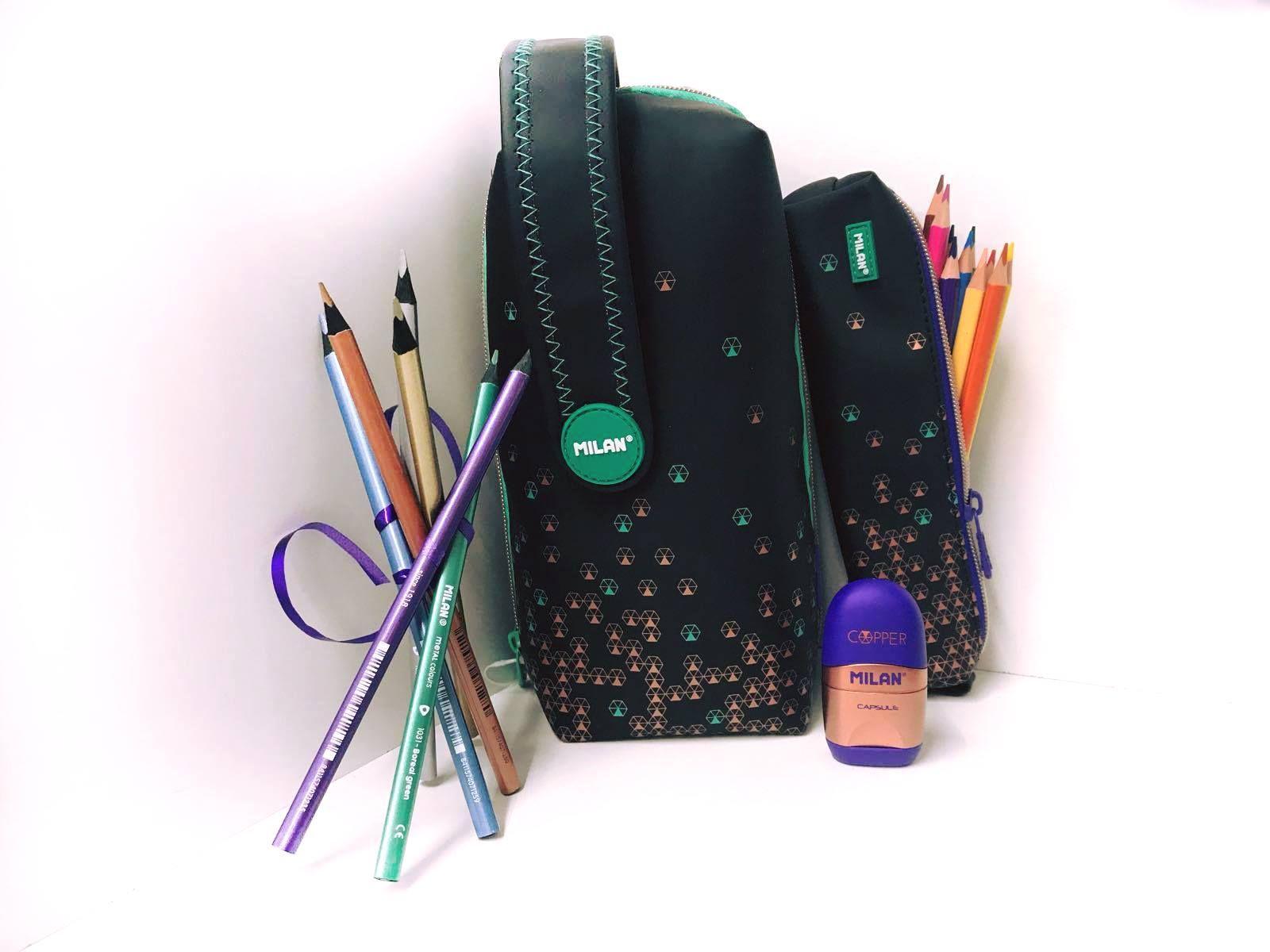 Material escolar en Tudela