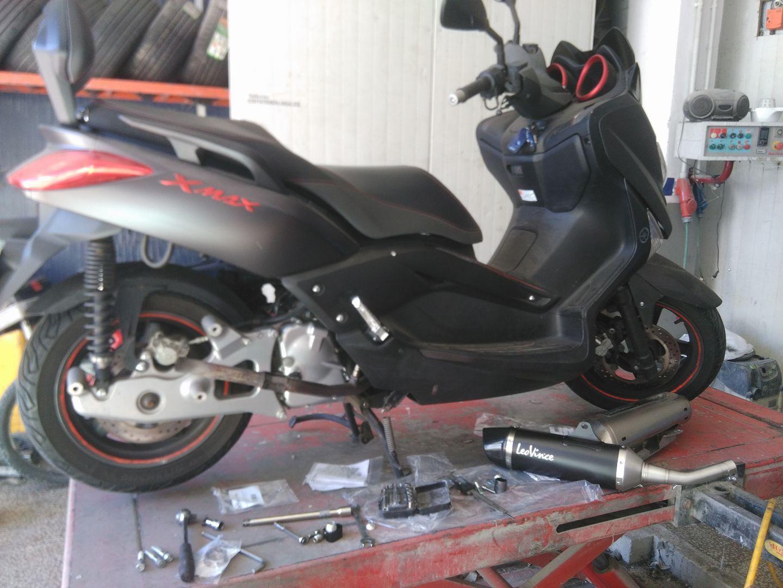 Reparación de moto en Málaga