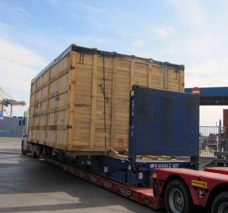 Plataformas acopladas para porta-contenedores
