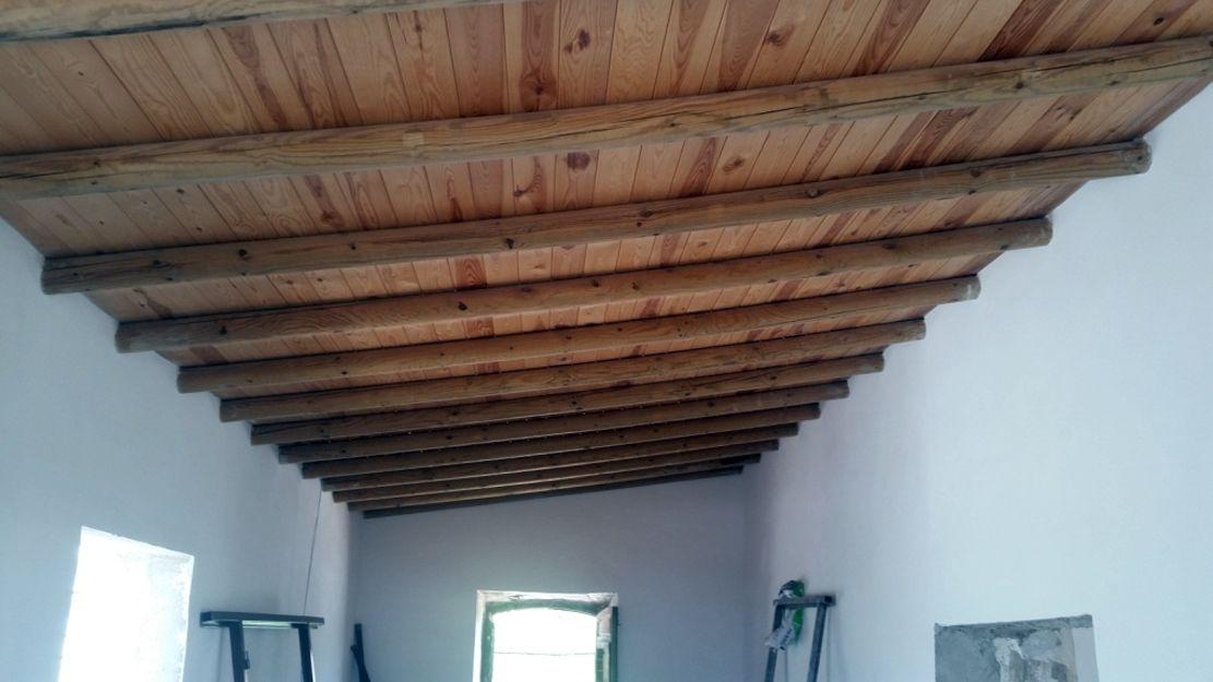 Restauración de un cortijo antiguo