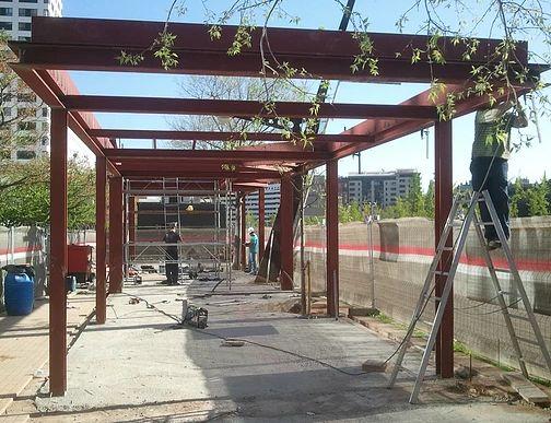 Foto 44 de Estructuras metálicas en  | Metalistería Barceló