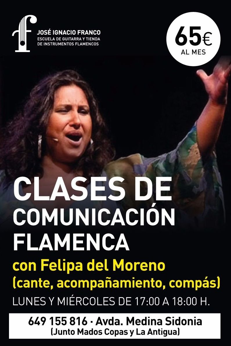 Clases de Cante: Clases de Academia de Guitarra Flamenca José Ignacio Franco
