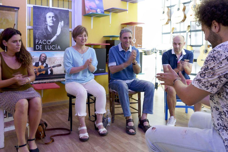 Clases de acompañamiento flamenco en Jerez