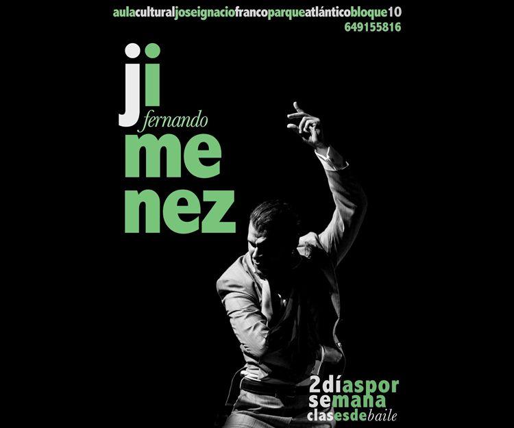 Clases de baile flamenco por Fernando Jiménez en Jerez de la Frontera
