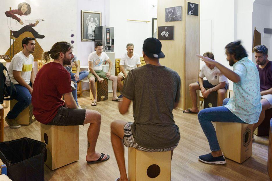 Clases de cajón en Jerez de la Frontera