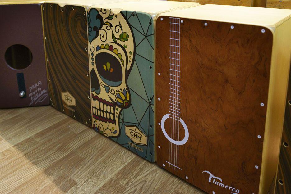 Venta de instrumentos flamencos en Jerez