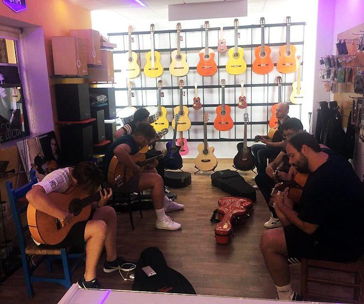 Clases de guitarra flamenca en Jerez de la Frontera