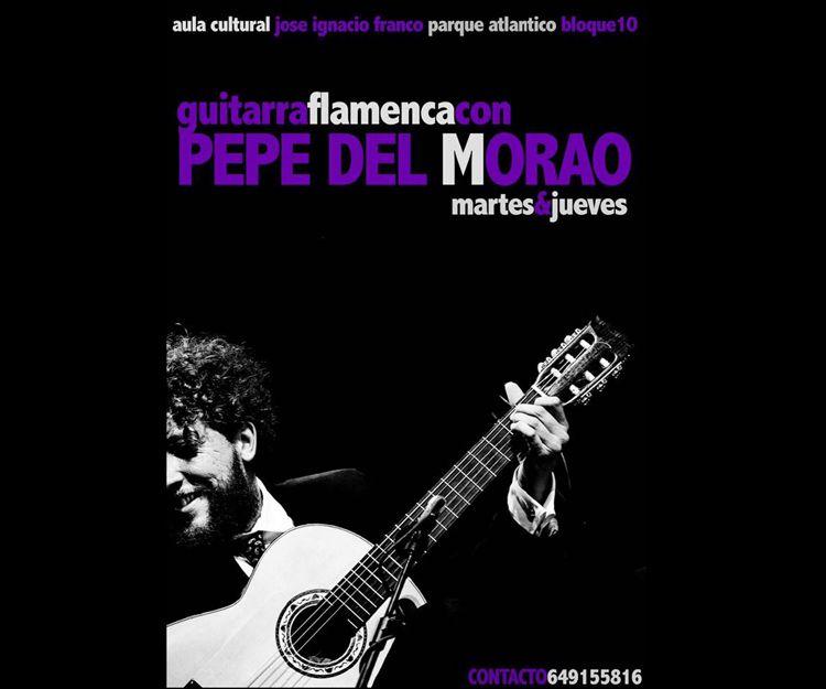 Aprende guitarra flamenca con Pepe del Morao en Jerez de la Frontera