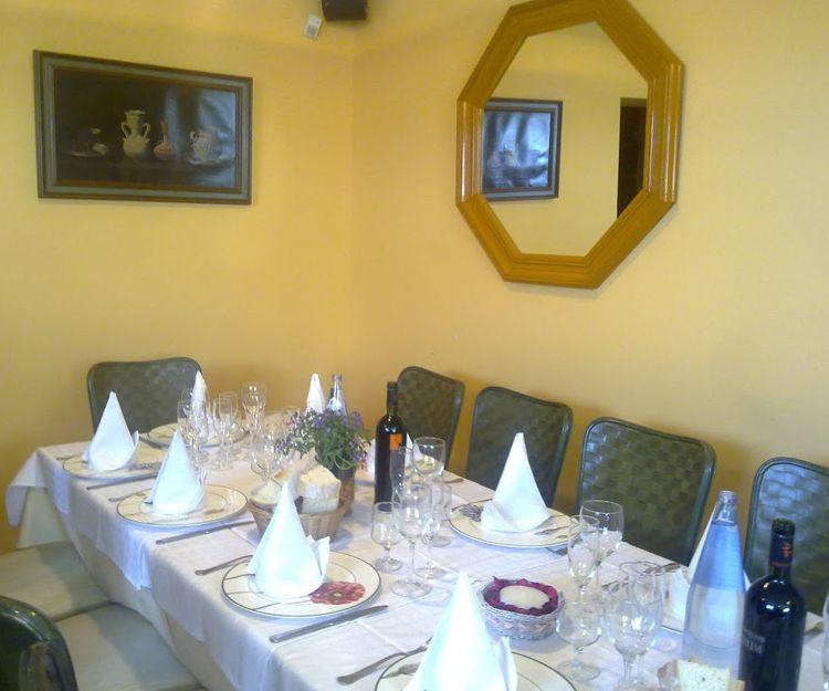 Restaurante para celebraciones en Madrid