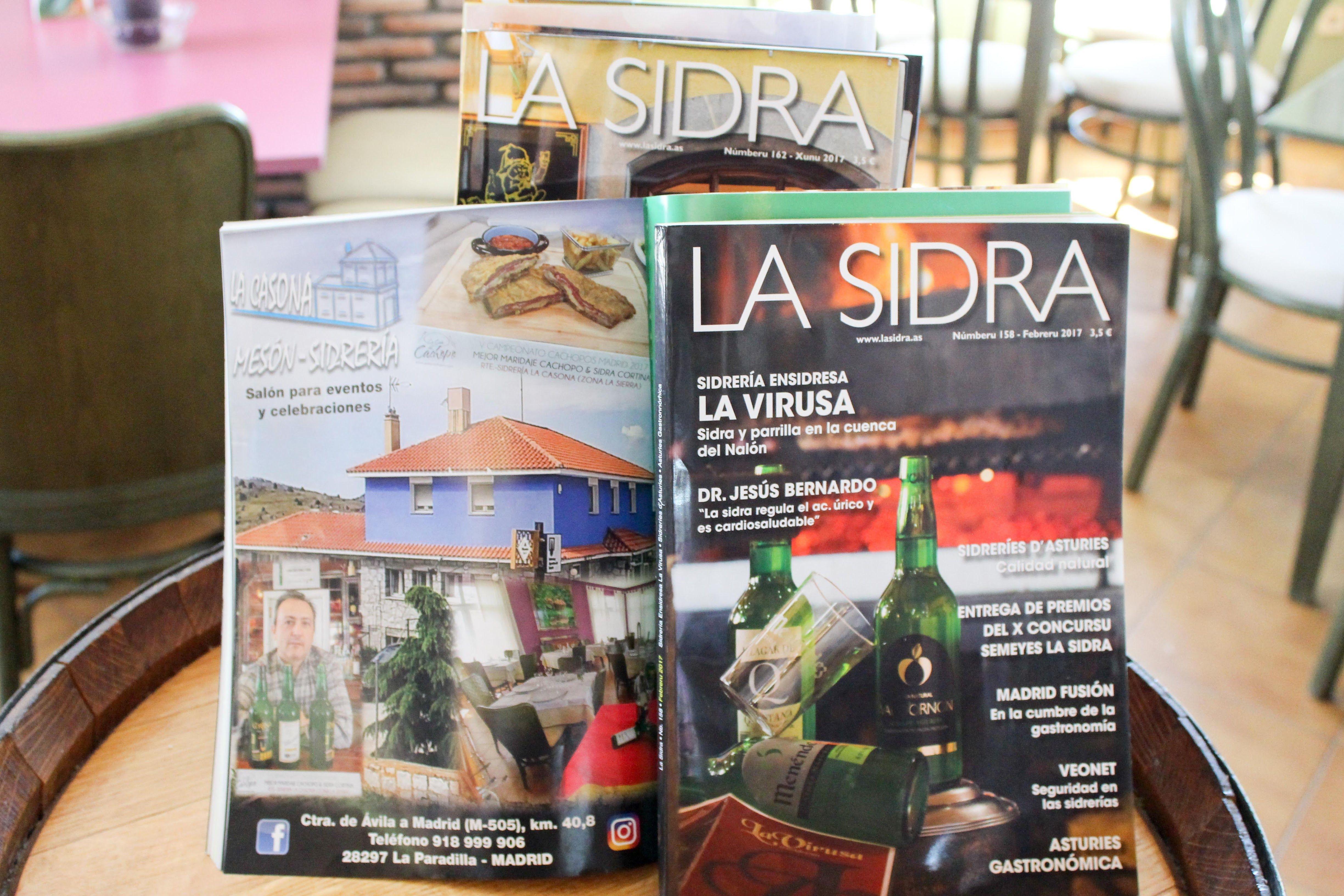 Foto 5 de Cocina asturiana en (La Paradilla)  | Restaurante Sidrería La Casona