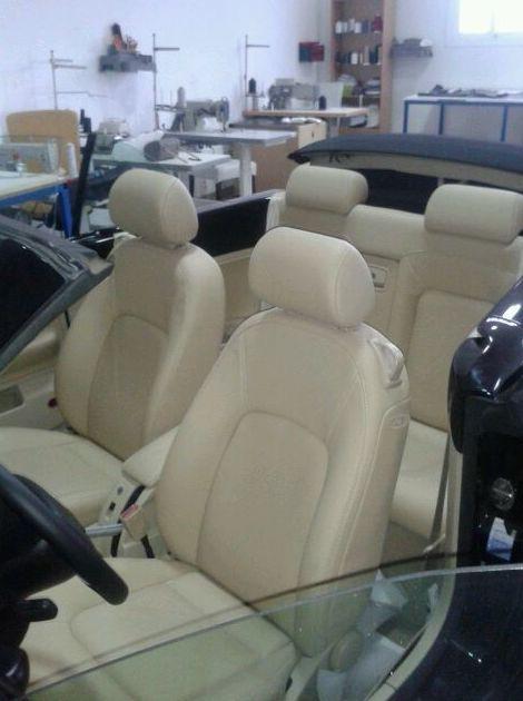 Tapizado de asientos de vehículos