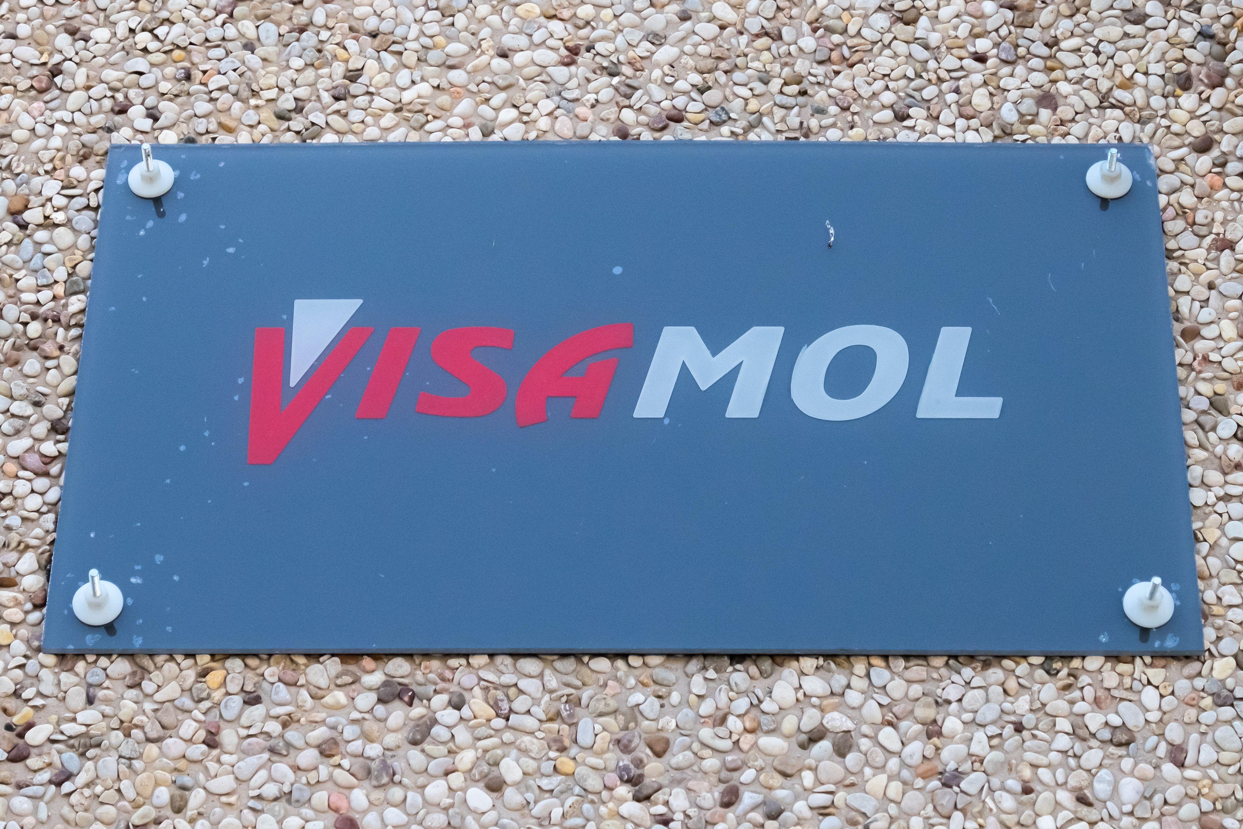 Rótulo de Moldes Visamol en Barcelona