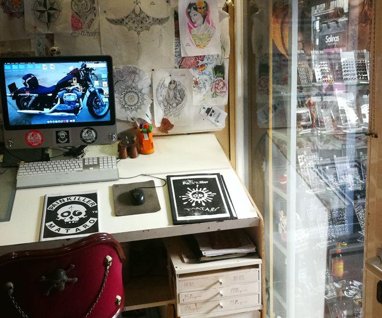 Estudio de tatuaje en Mataró