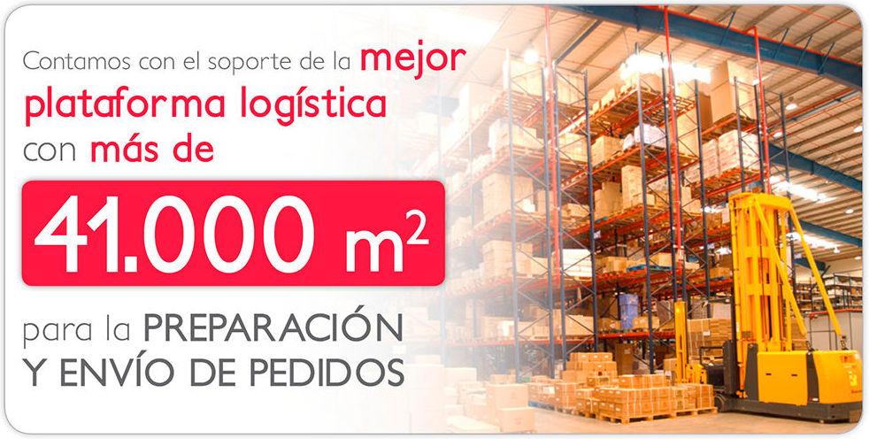 Una completa plataforma logística para preparación y envío de pedidos