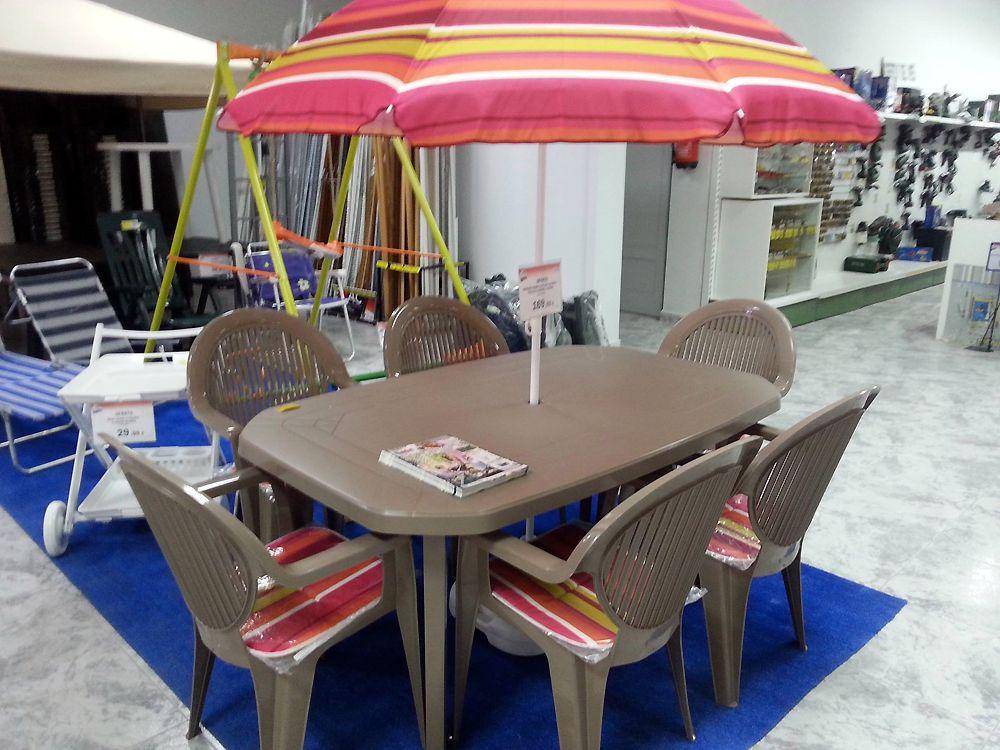 Muebles y accesorios de jardín