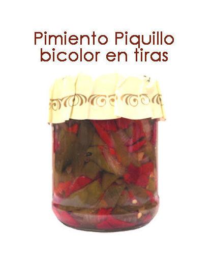 PIMIENTOS DEL PIQUILLO BICOLOR EN TIRAS: Productos y servicios de Pausa Proyectos y Distribución S.L.