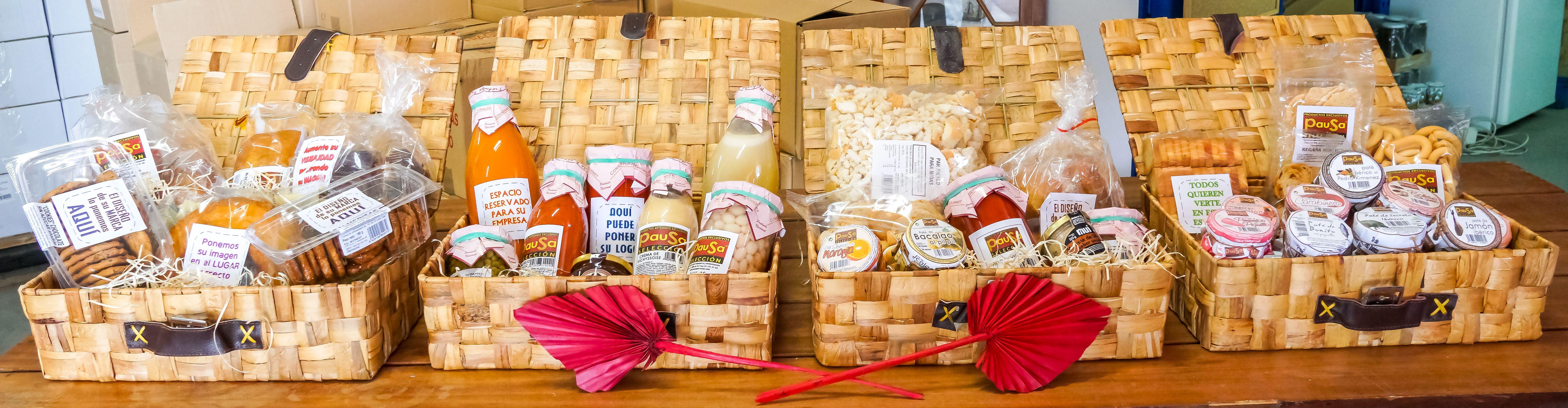 Tipologías de cestas personalizadas en Leganés