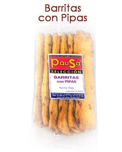 BARRITAS CON PIPAS: Productos y servicios de Pausa Proyectos y Distribución S.L.