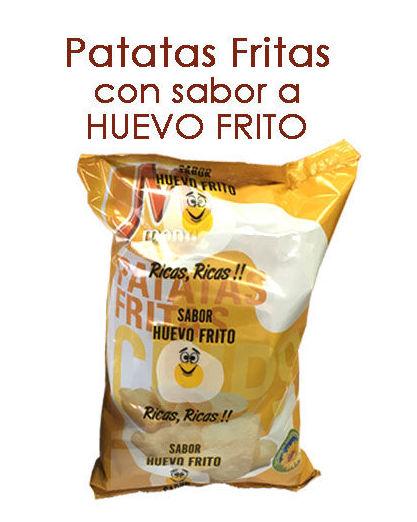 PATATAS FRITAS CON SABOR A HUEVO FRITO: Productos y servicios de Pausa Proyectos y Distribución S.L.
