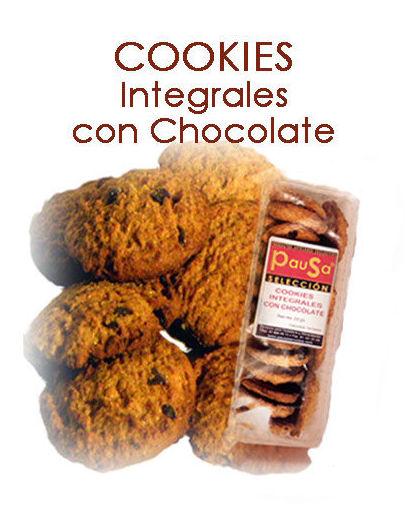 COOKIES INTEGRALES CON CHOCOLATE: Productos y servicios de Pausa Proyectos y Distribución S.L.