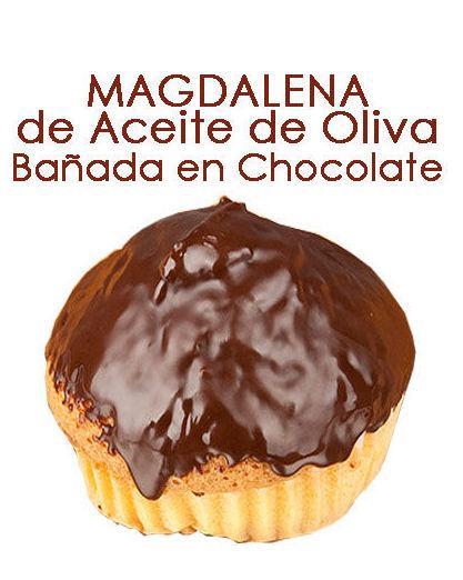 MAGDALENAS BAÑADAS EN CHOCOLATE: Productos y servicios de Pausa Proyectos y Distribución S.L.