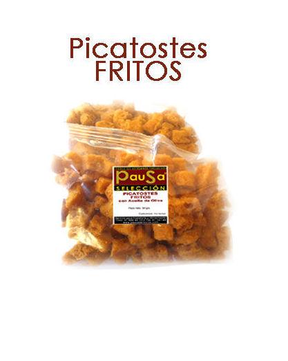 PICATOSTES FRITOS: Productos y servicios de Pausa Proyectos y Distribución S.L.