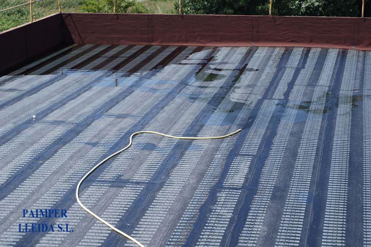 Impermeabilización de cubiertas en Lleida