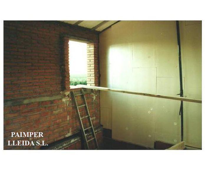 Aislamientos térmicos y acústicos: Catálogo de productos de Paimper Lleida, S.L.
