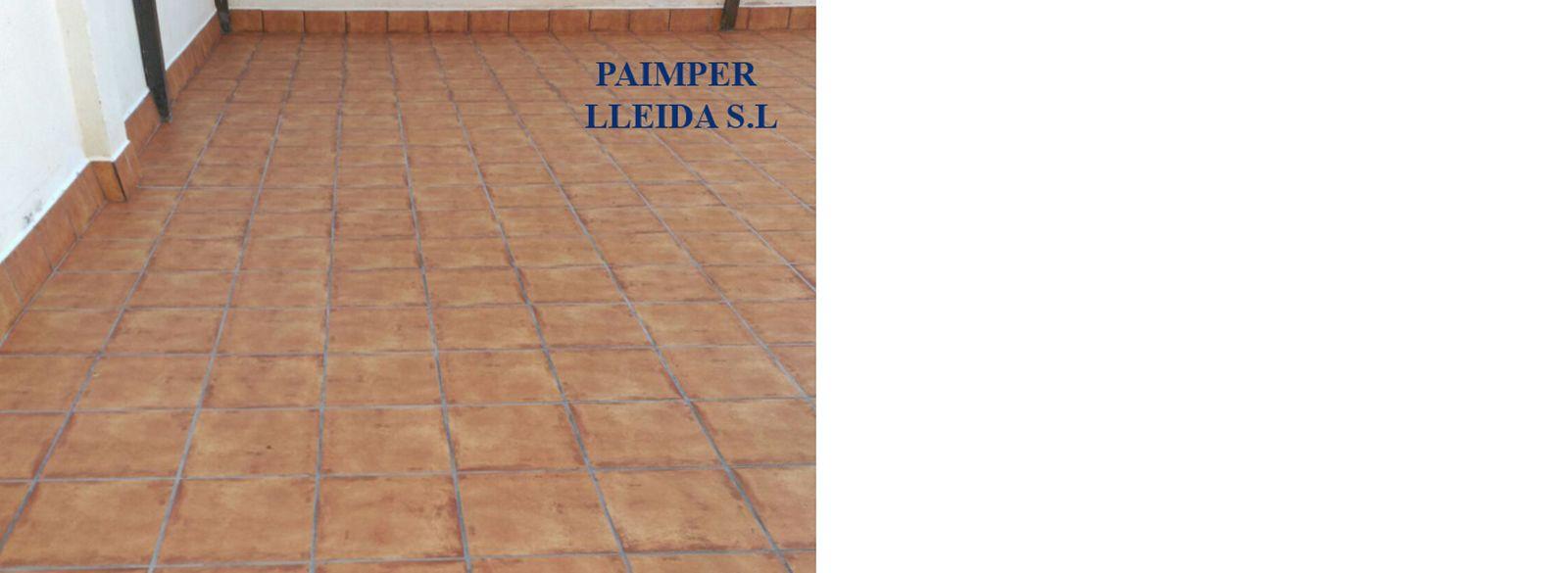 Terrazas - Impermeabilización y embaldosado.: Catálogo de productos de Paimper Lleida, S.L.