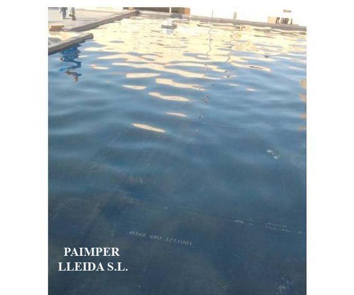 Impermeabilización de  balsas: Catálogo de productos de Paimper Lleida, S.L.