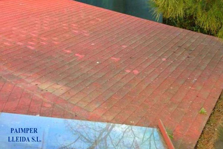 Trabajos de impermeabilización y aislamiento en tejados