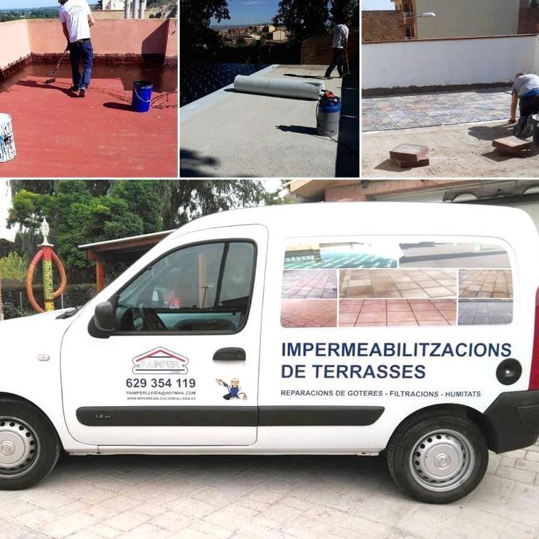 Foto 1 de Impermeabilizaciones en Lleida | Paimper Lleida, S.L.