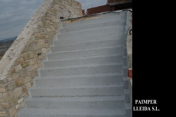 Aislamiento de escaleras