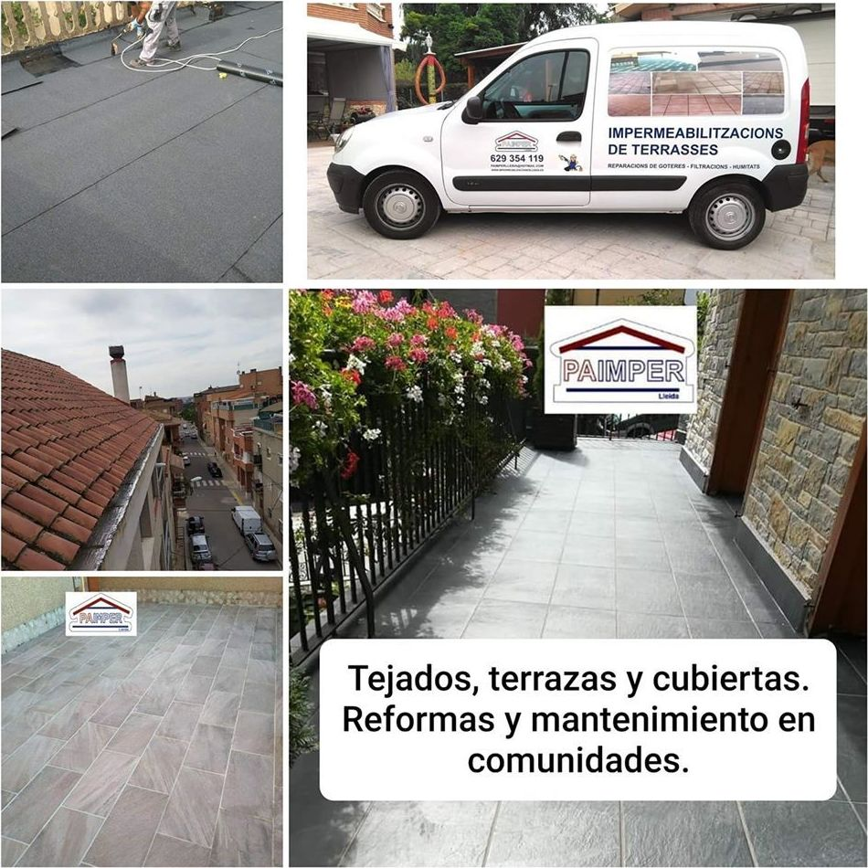 Foto 4 de Impermeabilizaciones en Lleida | Paimper Lleida, S.L.
