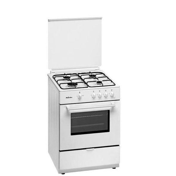 COCINA MEIRELES MAGMA F501W C/HORNO 4/F GAS ---239€: Productos y Ofertas de Don Electrodomésticos Tienda online