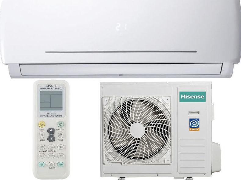 SPLIT HISENSE AS09UR4SYDDC Frío 2236 Fr A+, Calor 2408 Kcal A, 33dB ---309€: Productos y Ofertas de Don Electrodomésticos Tienda online