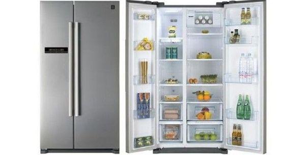 FRIG.SIDEBYSIDE DAEWOO FRN-X22BVSI 177X90 TITANIO A+ ---789€ : Productos y Ofertas de Don Electrodomésticos Tienda online