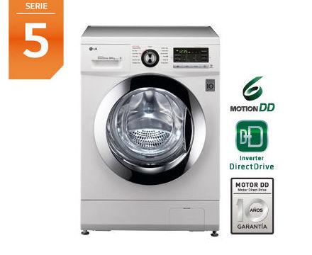 LavadoraSecadora  LG F1496ADP3 1400rpm Clase B, 8Kg Lav. y 4Kg sec. ---555€: Productos y Ofertas de Don Electrodomésticos Tienda online