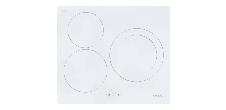 VITRO-DIGITAL CATA IB603WH 3/INDUC. BISEL BLANCA ---329€ : Productos y Ofertas de Don Electrodomésticos Tienda online