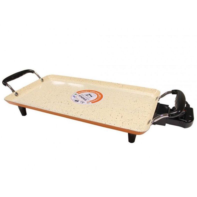 Plancha asar eléctrica 42x24 1500W Natural Stone ---22€: Productos y Ofertas de Don Electrodomésticos Tienda online