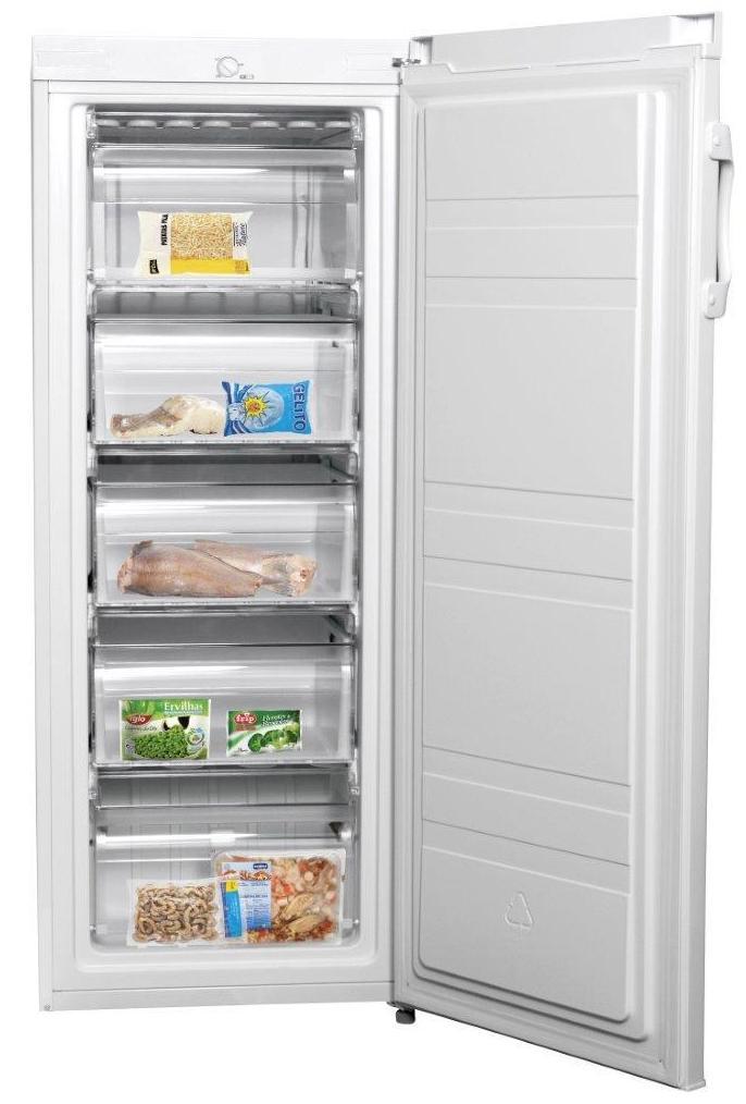 Congelador vertical CONFORTEC CFC 250 A+ 5 CAJONES --- 219€: Productos y Ofertas de Don Electrodomésticos Tienda online